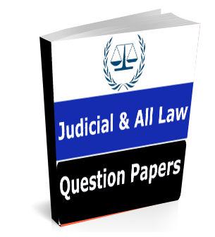 Judicial Exam Question Papers