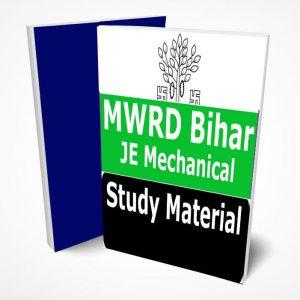 MWRD Bihar JE Mechanical Study Material Notes -Buy Online Full Syllabus Text Book ME-Junior Engineer