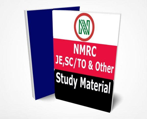 NMRC JE, SCTO Study Material Notes