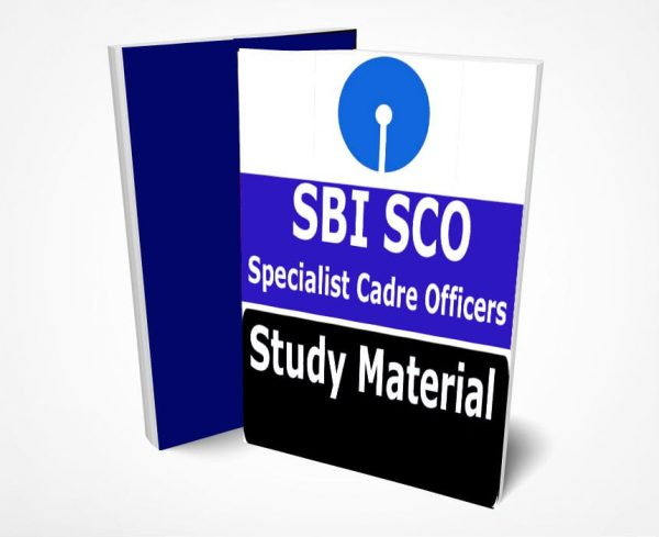 SBI SCO Study Material Notes(Specialist Cadre Officers)
