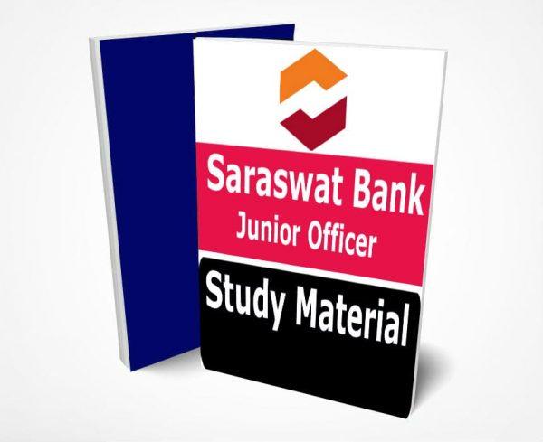Saraswat Bank Junior Officer Study Material Notes