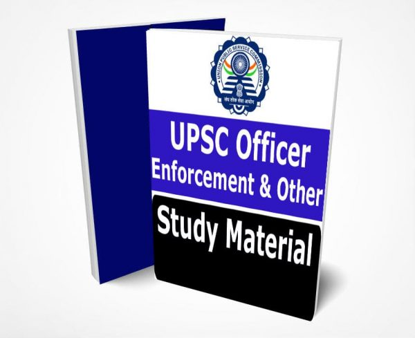 UPSC Enforcement Officer Study Material Notes Fully Updated Syllabus Text Books