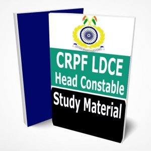 CRPF LDCE Head Constable Study Material Notes -Buy Online Full Syllabus Text Book