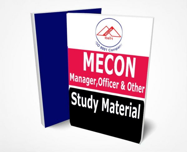 MECON Limited Study Material Notes -Buy Online Full Syllabus Text Book Manager, Officer & All Other