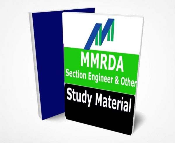 MMRDA Section Engineer Study Material Notes -Buy Online Full Syllabus Text Book Manager, Traffic Controller & All Other