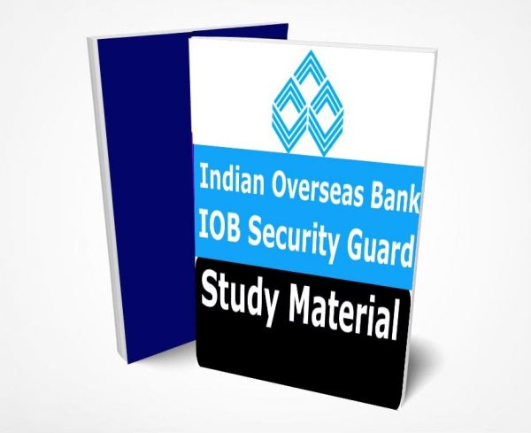 IOB Security Guard Study Material Lecture Notes (Topic-wise) Buy Online Full Syllabus Text Book