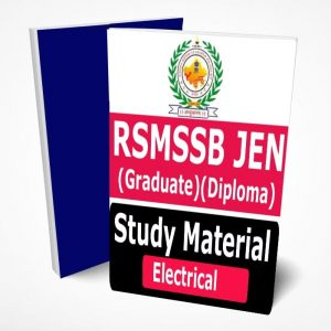 RSMSSB JE Electrical Study Material Lecture Notes (Topic-wise) Buy Online Full Syllabus Textbook JEN Graduate Diploma