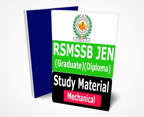 RSMSSB JE Mechanical Study Material Lecture Notes (Topic-wise) - Buy Online Full Syllabus Textbook JEN Graduate & Diploma