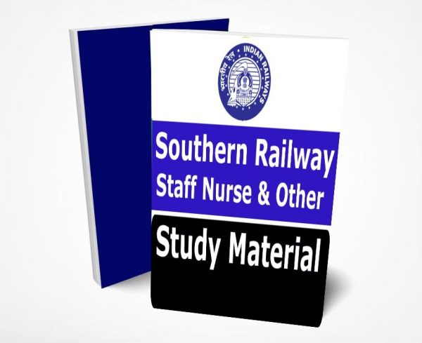Southern Railway Staff Nurse Study Material Notes -Buy Online Full Syllabus Text Book Doctors, Nursing & Other
