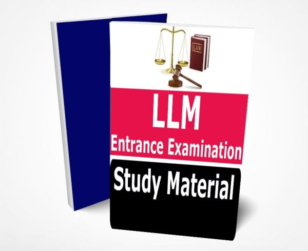 LLM Entrance Examination Book Study Material (Topic-wise) Buy Online Full Syllabus Notes
