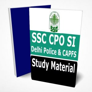SSC CPO SI Study Material Lecture Notes