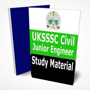 UKSSSC JE Civil Study Material Book Notes PDF (Junior Engineer)