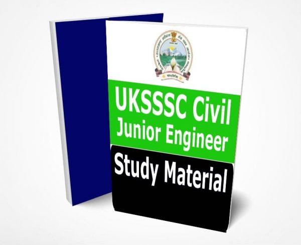 UKSSSC JE Civil Study Material Book Notes PDF (Junior Engineer)