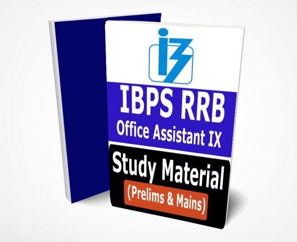IBPS RRB IX Office Assistant Book PDF