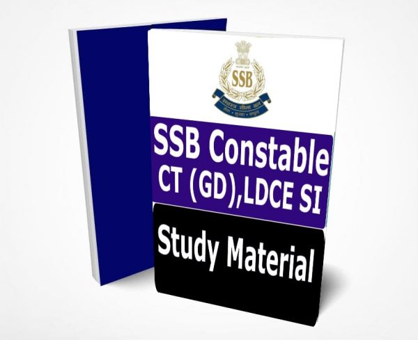 SSB Constable Study Material Lecture Notes 2020 Buy Online Full Syllabus Text Book CT (GD), LDCE SI