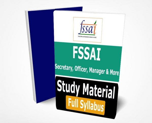 Food Safety and Standards Authority of India Book