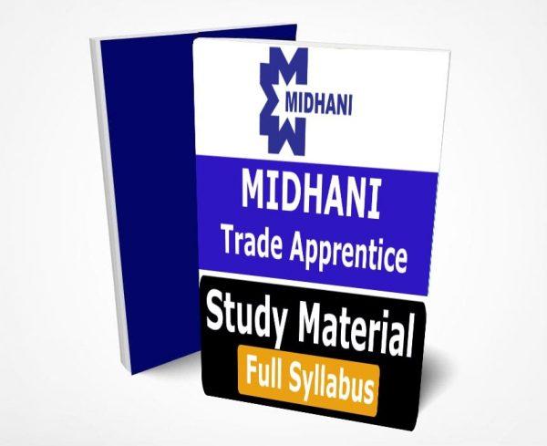 MIDHANI Trade Apprentice Study Material