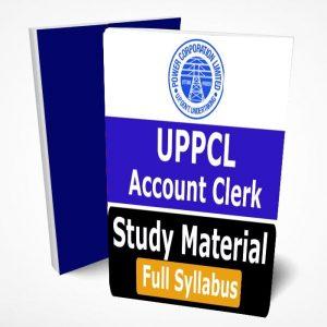 UPPCL Account Clerk Study Material