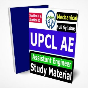 UPCL Assistant Engineer Mechanical Study Material