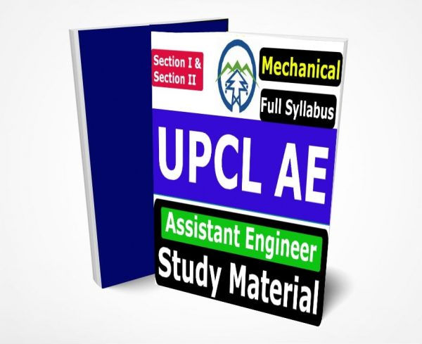 UPCL Assistant Engineer MechanicalStudy Material