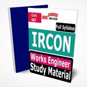 IRCON Work Engineer Study Material
