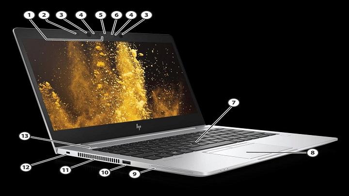 HP EliteBook x360 830 G6 Notebook PC1