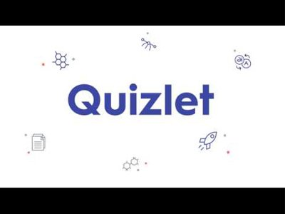 Quizlet is an interactive educational app