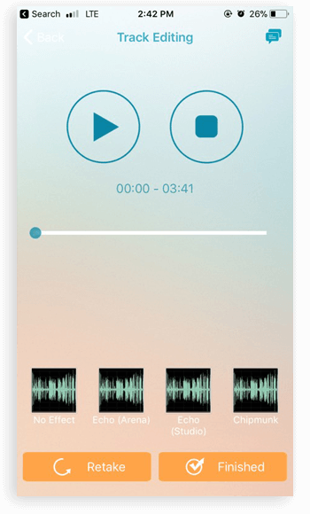 music app screenshots