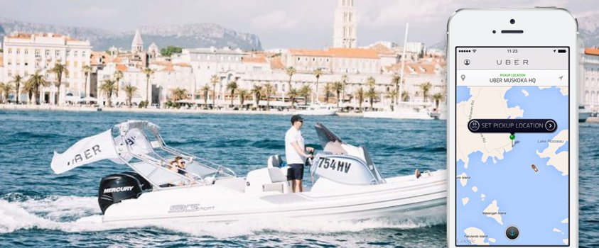 Uber launches Uber Boat