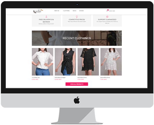 Women Fashion eCommerce Website Features