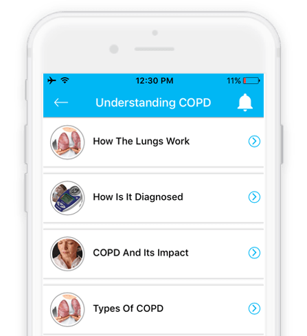 COPD management solutions