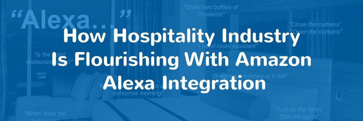 Amazon Alexa Skills for Hotels