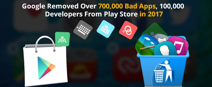 Google Play Removed Over 700000 Bad Apps :: No clone for