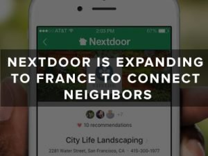 app like Nextdoor