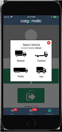 Cargomatic Mobile App