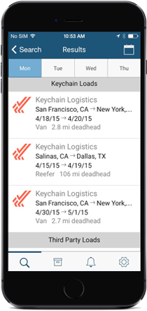 Keychain Truck Mobile App