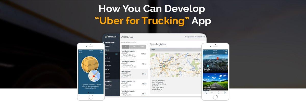 Uber For Trucks :: Build an App Like Uber For Trucking App