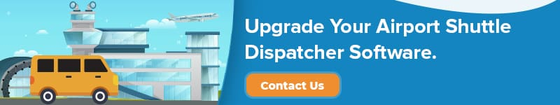 airport shuttle dispatcher software