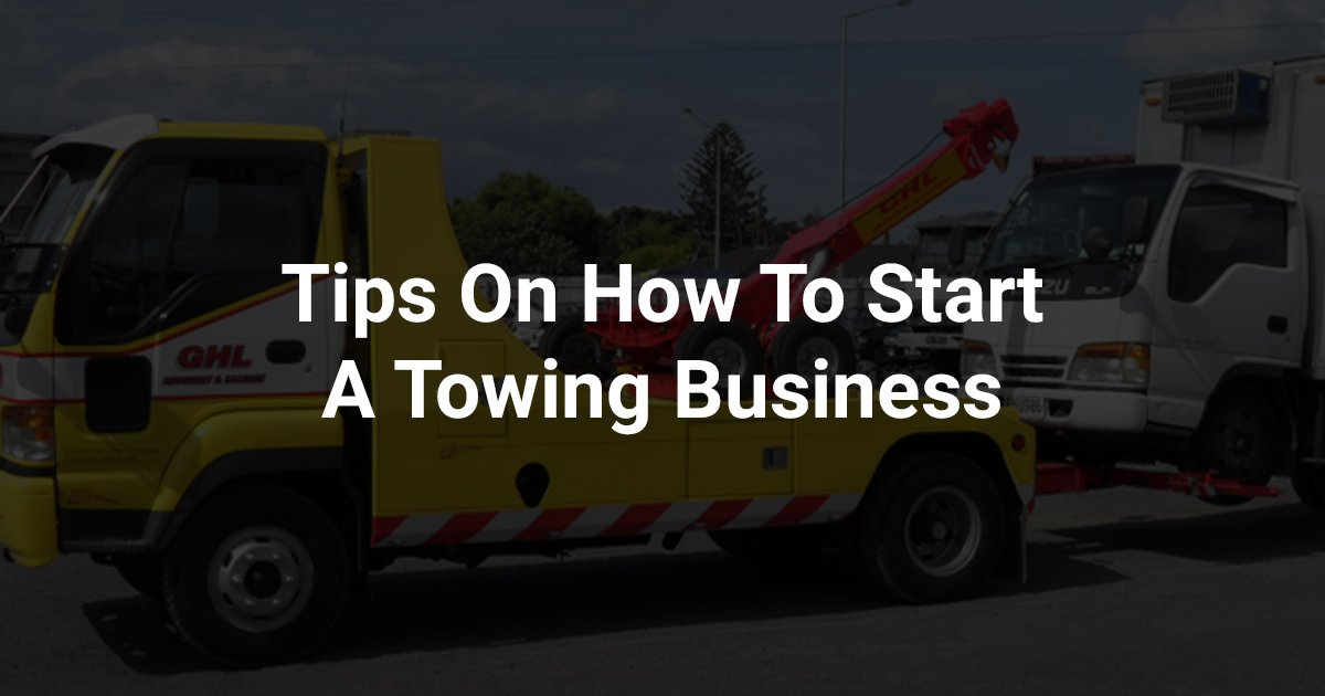 Tips On Towing