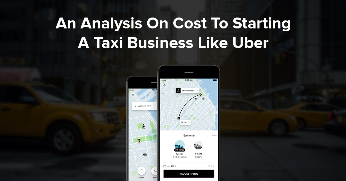 cost of starting a taxi business