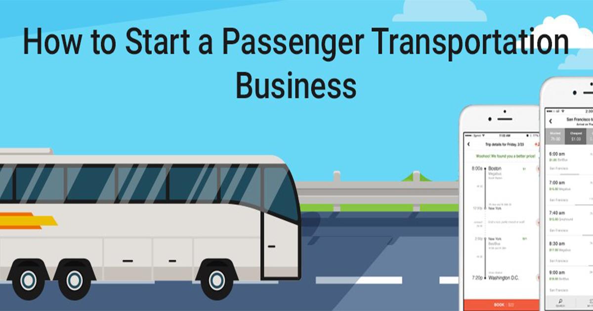 How to Start Passenger Transportation Business
