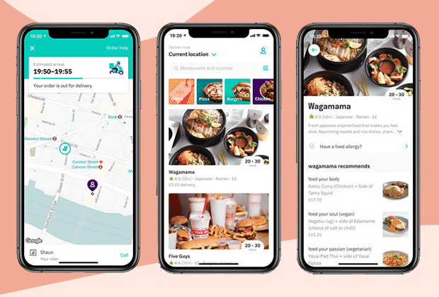 Build Food Delivery app like deliveroo
