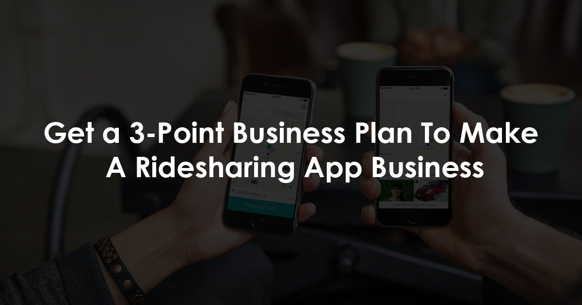 How to Make a Rideshare App