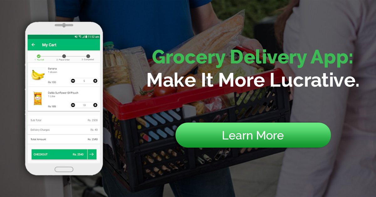 Best Grocery Delivery App Development