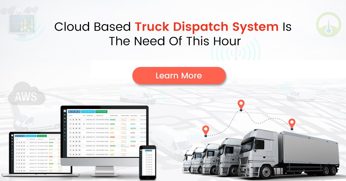 Cloud Based Dispatch Software for Trucking Industry