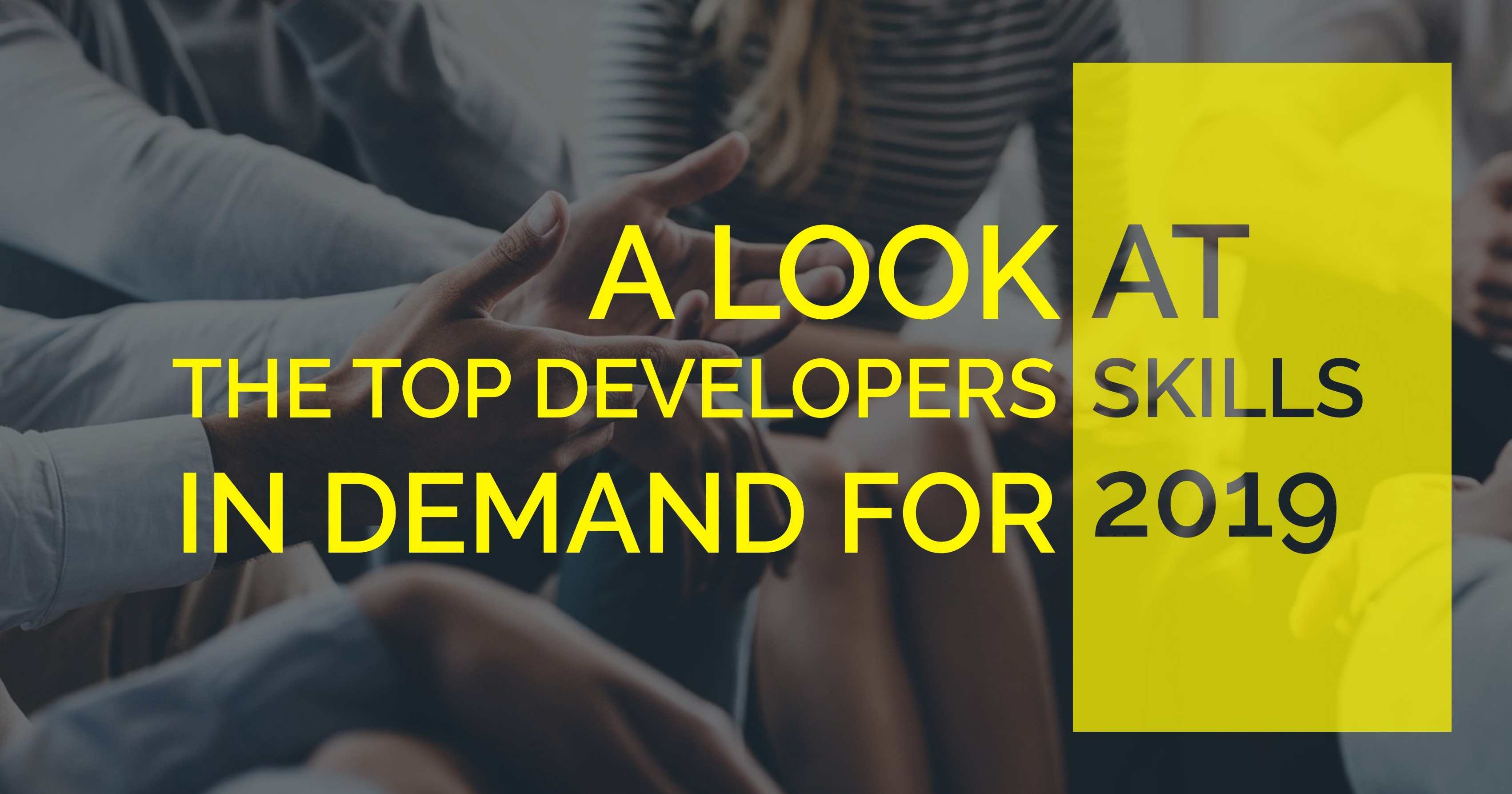 most in-demand developer skills