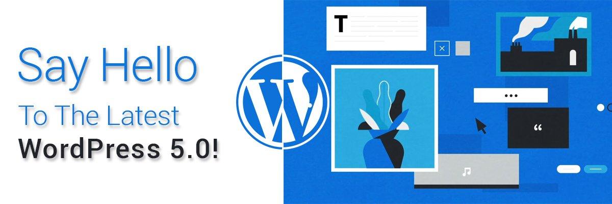 New WordPress 5.0