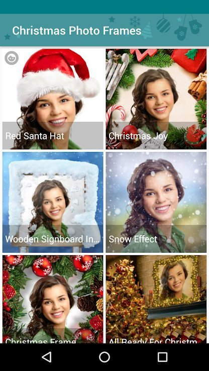 Christmas Photo Frame Apps