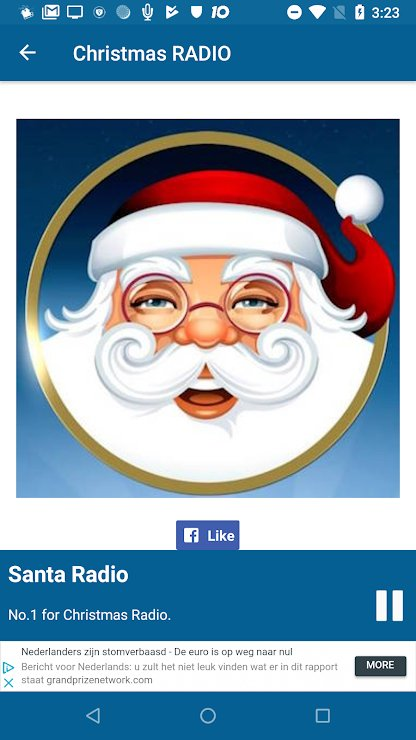 Christmas Radio Music App