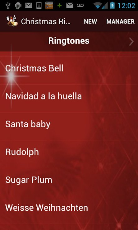 Christmas Ringtone Phone Music Top App